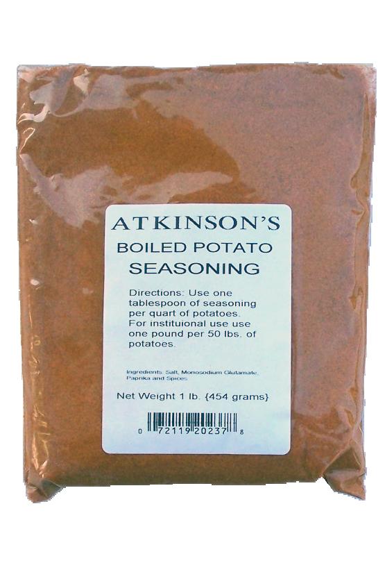 1 Lb Atkinson S Boiled Potato Seasoning