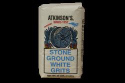 Atkinson's Stone Ground White Grits