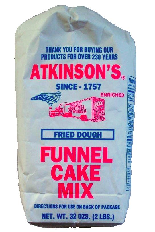 5 Lb Atkinson S Funnel Cake Mix